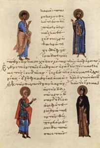 Vier Heilige