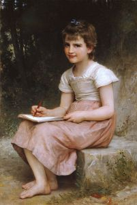 William Adolphe Bouguereau, A Calling,1896