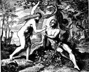 """Woodcut for """"Die Bibel in Bildern"""", 1860. Julius Schnorr von Carolsfeld"""